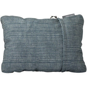 Therm-a-Rest Compressible Coussin Taille M, blue woven dot